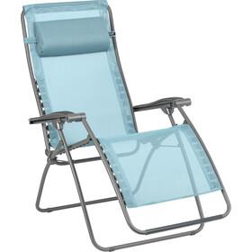 Lafuma Mobilier RSXA Clip Relax Stoel Batyline, blauw/grijs